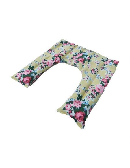 Floral Lemon design Heated Neck and Shoulder Warmer - unscented
