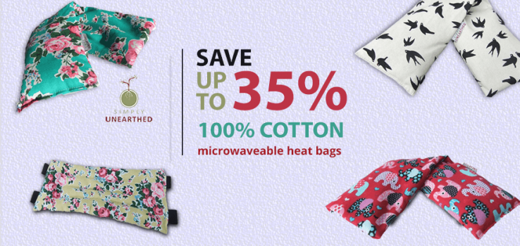 simply unearthed wheat bag up to 50% off